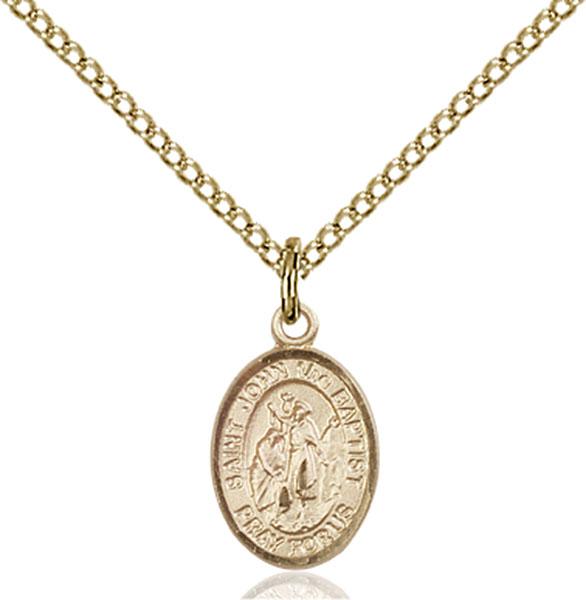 Gold-Filled St. John the Baptist Pendant