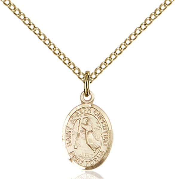 Gold-Filled St. Joseph Of Cupertino Pendant