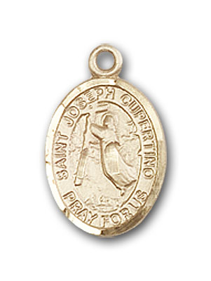 14K Gold St. Joseph Of Cupertino Pendant