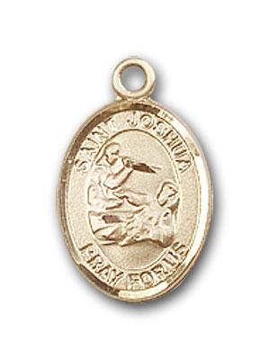 14K Gold St. Joshua Pendant