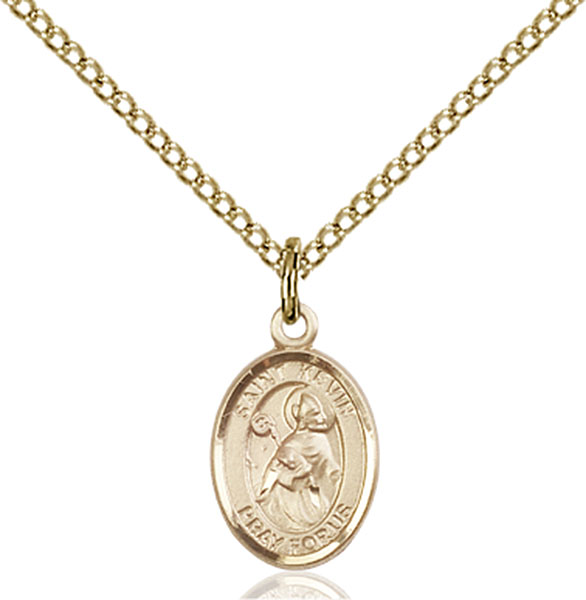 Gold-Filled St. Kevin Pendant