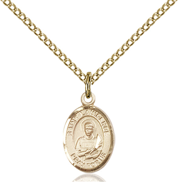 Gold-Filled St. Lawrence Pendant