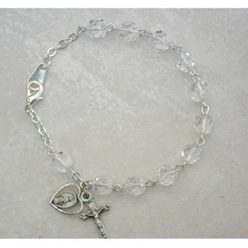 "6 1/2"" Crystal Bracelet"