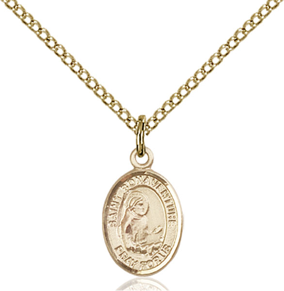 Gold-Filled St. Bonaventure Pendant