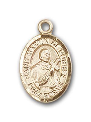Gold-Filled St. Martin de Porres Pendant