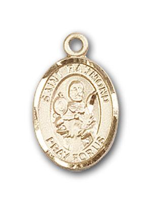 14K Gold St. Raymond Nonnatus Pendant