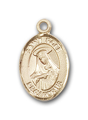 Gold-Filled St. Rose of Lima Pendant