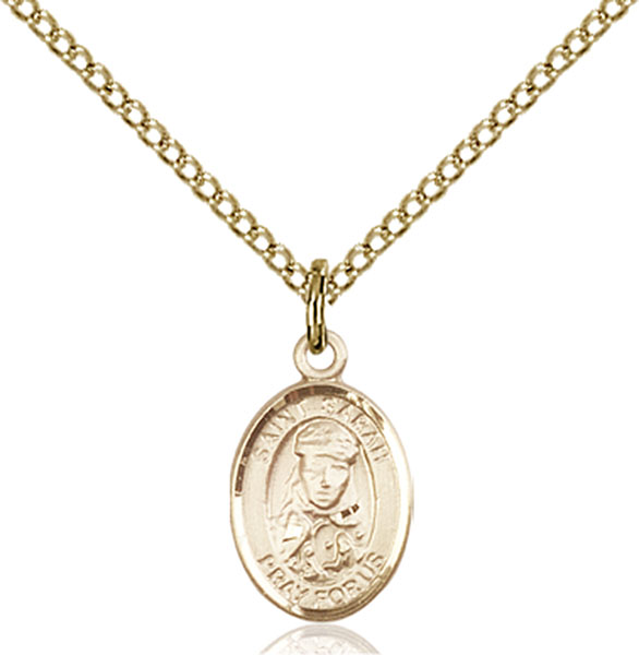 Gold-Filled St. Sarah Pendant