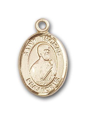 14K Gold St. Thomas the Apostle Pendant