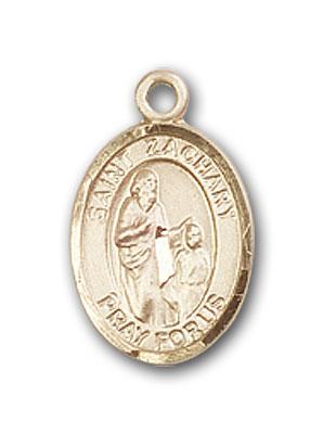 14K Gold St. Zachary Pendant