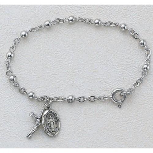 "5 1/2"" All Sterling Bracelet"