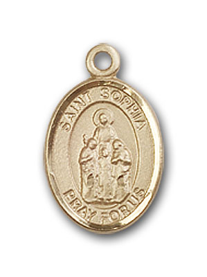 Gold-Filled St. Sophia Pendant