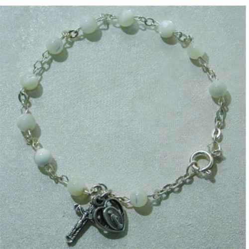 "7.5"" Mother Of Pearl Bracelet"