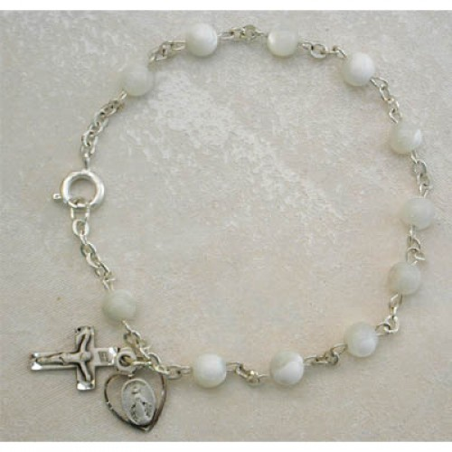 "7.5"" Mother Of Pearl Bracelet"