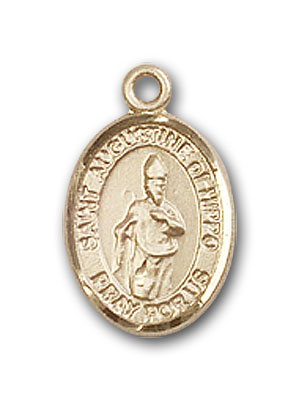 Gold-Filled St. Augustine of Hippo Pendant
