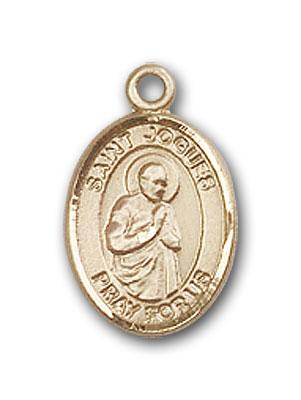 Gold-Filled St. Isaac Jogues Pendant
