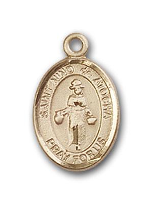 Gold-Filled St. Nino de Atocha Pendant