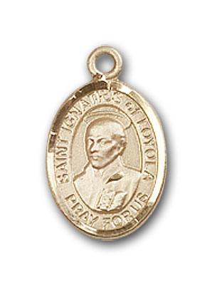 Gold-Filled St. Ignatius of Loyola Pendant
