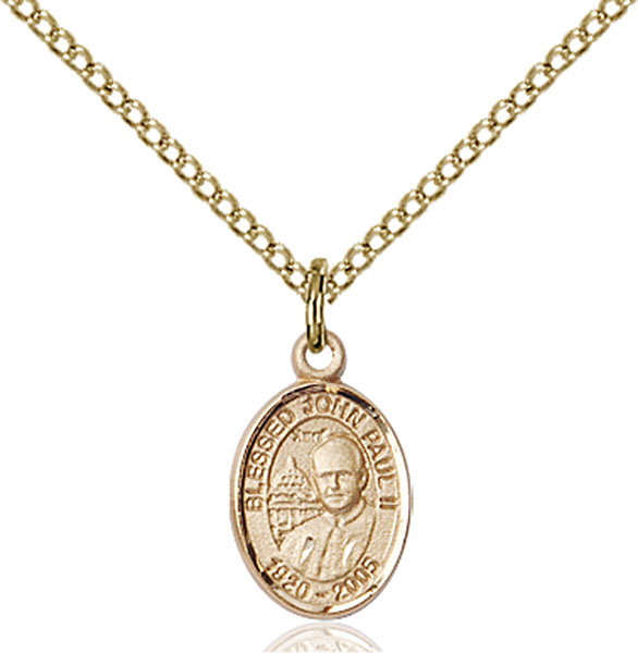 Gold-Filled Pope John Paul II Pendant