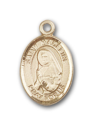 14K Gold St. Madeline Sophie Barat Pendant
