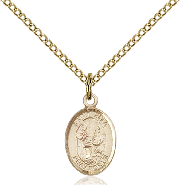 Gold-Filled St. Zita Pendant