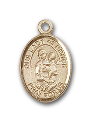 Gold-Filled Our Lady of Knock Pendant
