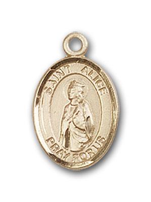 Gold-Filled St. Alice Pendant