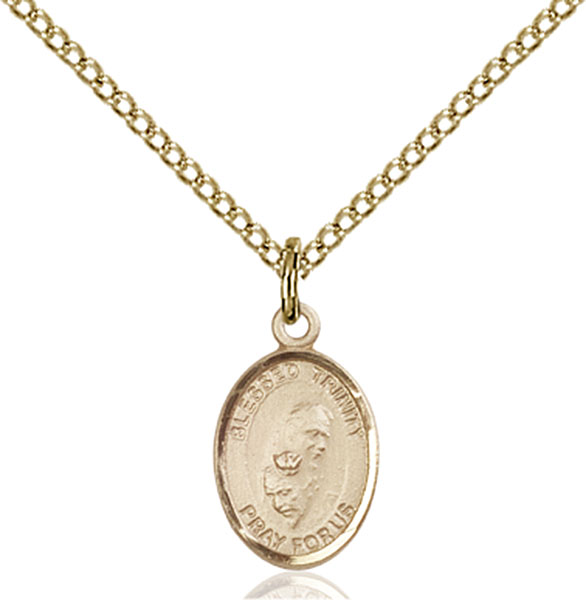 Gold-Filled Blessed Trinity Pendant