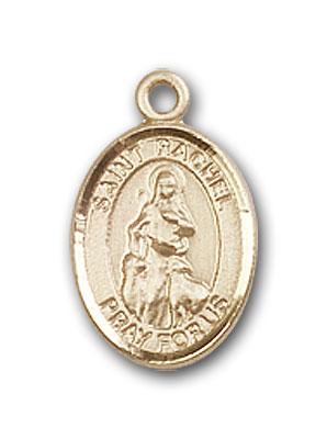 Gold-Filled St. Rachel Pendant