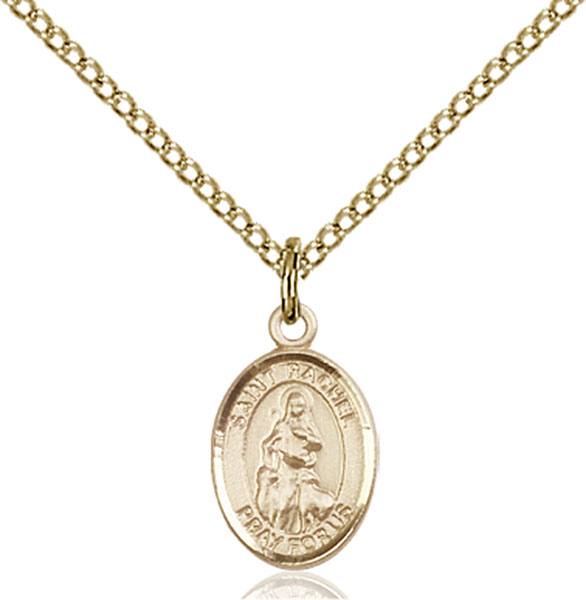 Gold-Filled St. Rachel Pendant