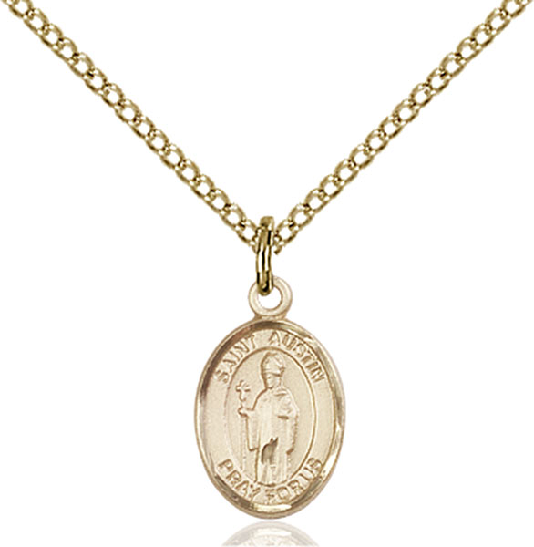 Gold-Filled St. Austin Pendant