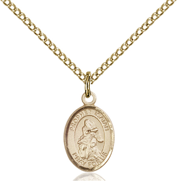 Gold-Filled St. Isaiah Pendant
