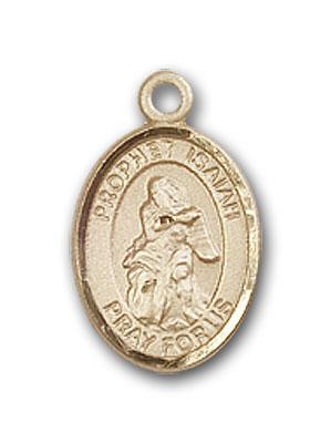 14K Gold St. Isaiah Pendant