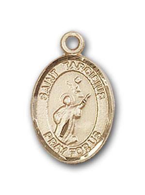 14K Gold St. Tarcisius Pendant