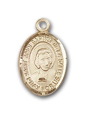 Gold-Filled St. John Baptist de La Salle Pendant