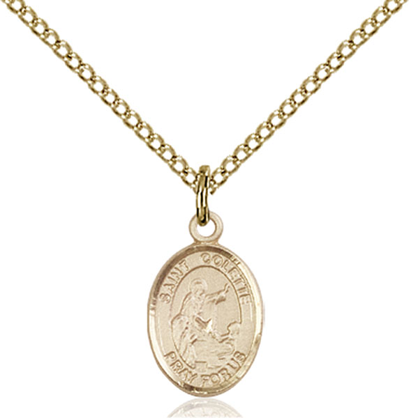 Gold-Filled St. Colette Pendant