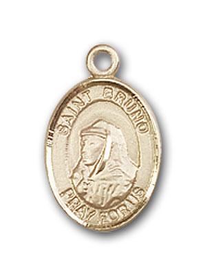 Gold-Filled St. Bruno Pendant