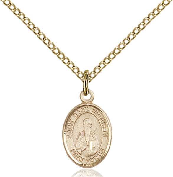Gold-Filled St. Basil the Great Pendant