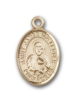 Gold-Filled St. James the Lesser Pendant