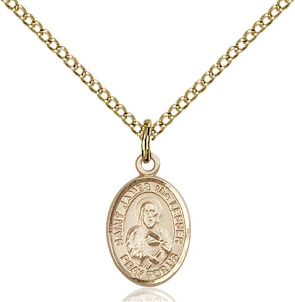 Gold-Filled St. James the Lesser Pendant