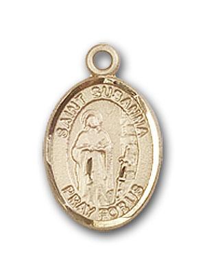 14K Gold St. Susanna Pendant