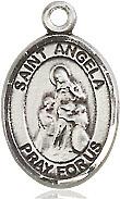 Sterling Silver St. Angela Merici Pendant