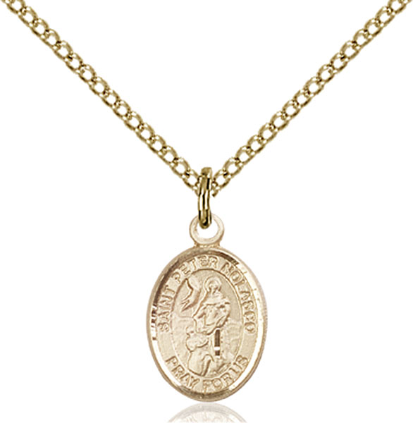 Gold-Filled St. Peter Nolasco Pendant