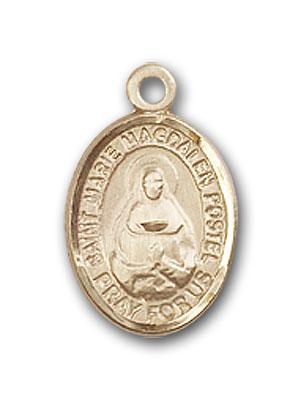 14K Gold Marie Magdalen Postel Pendant
