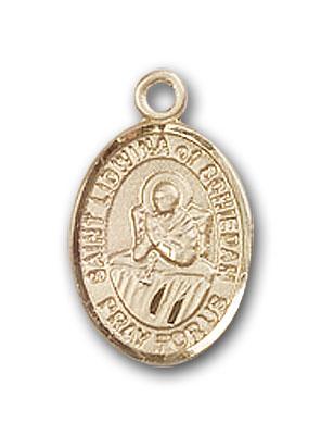 Gold-Filled St. Lidwina of Schiedam Pendant