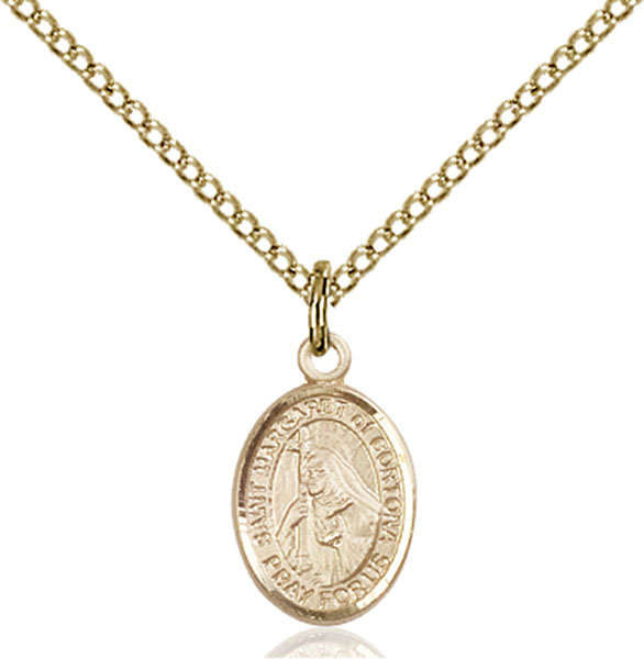 Gold-Filled St. Margaret of Cortona Pendant