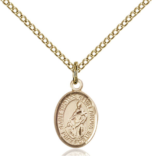 Gold-Filled St. Thomas of Villanova Pendant