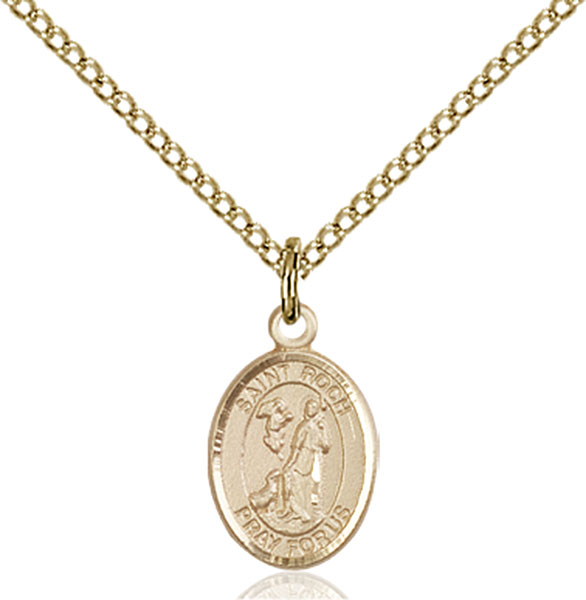 Gold-Filled St. Roch Pendant