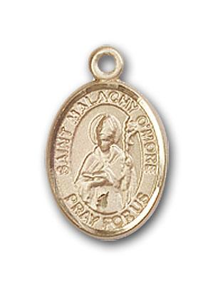 14K Gold St. Malachy O'More Pendant