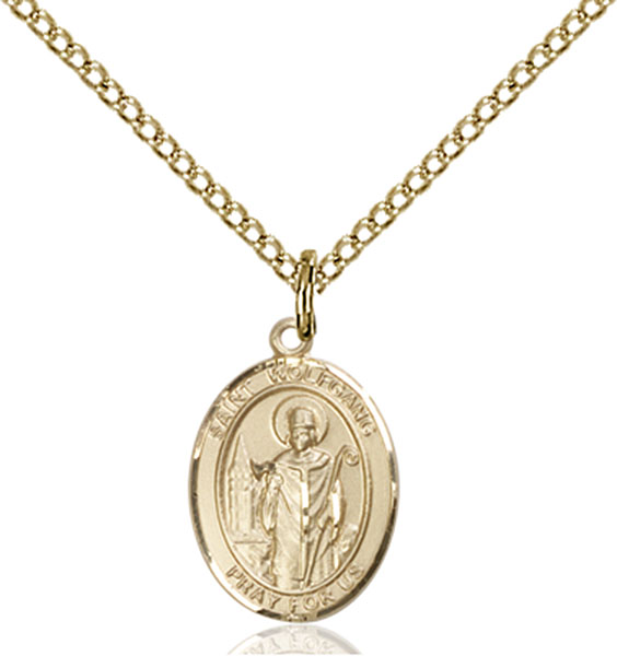 Gold-Filled St. Wolfgang Pendant